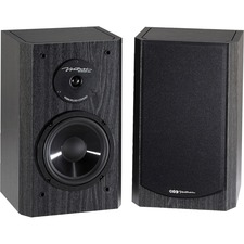 BIC America Venturi 175 W RMS Speaker - 2-way - 2 Pack - Black