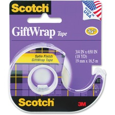 MMM 15 3M Scotch Satin Finish GiftWrap Tape MMM15