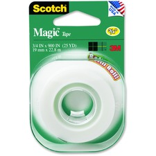 MMM 205 3M Scotch Matte Finish Magic Tape MMM205