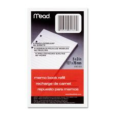 MEA 46530 Mead Memo Book Refill Pages MEA46530