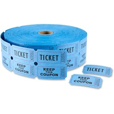"MACO Double Roll Ticket - ""Ticket/Keep This Coupon"""