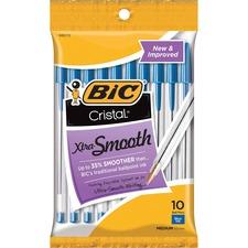 BIC MSP101BE Bic Classic Cristal Ballpoint Pens BICMSP101BE