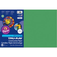 PAC 102961 Pacon Tru-Ray Heavyweight Construction Paper PAC102961