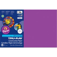 PAC 103032 Pacon Tru-Ray Heavyweight Construction Paper PAC103032