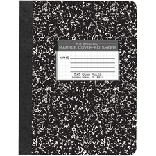 ROA 77227 Roaring Spring 80 Sheet Quad Ruled Comp. Notebooks ROA77227