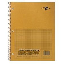 ROA 11209 Roaring Spring Wirebound Quad Notebook ROA11209