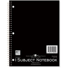 ROA 10022 Roaring Spring 1-subject Spiral Notebook ROA10022