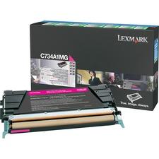 LEXC734A1MG - Lexmark Toner Cartridge