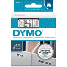 DYM45013 - Dymo D1 Electronic Tape Cartridge