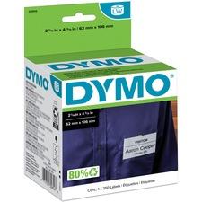 DYM 30856 Dymo Non-Adhesive LabelWriter Name Badge Labels DYM30856