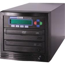 Kanguru 1-to-1, 24x DVD Duplicator - StandaloneDVD-ROM, DVD-Writer - 24x DVD-R, 24x DVD+R, 12x DVD-R, 12x DVD+R, 52x CD-R - 22x DVD-R/RW, 22x DVD+R/RW - USB - 52 CD Read/52 CD Write - 18 DVD Read/24 DVD Write/22 DVD Rewrite - USB - TAA Compliant