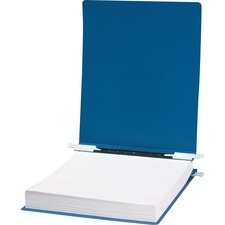 "Acco hide Unburst Data Binders - 6"" Binder Capacity - 9 1/2"" x 11"" Sheet Size - Pressboard - Blue - Recycled - 1 / Each"
