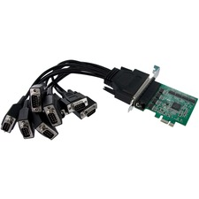 StarTech 8 Port Native PCI Express RS232 Serial Adapter Card