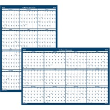 HOD 3960 Doolittle Laminated Wipe Off Wall Calendar HOD3960