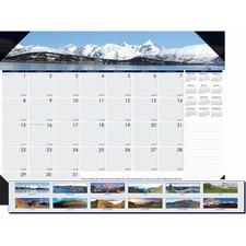 HOD 176 Doolittle EarthScapes Mountains Desk Pad HOD176