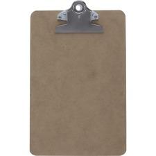 SAU 05610 Saunders Brown Hardboard Clipboards SAU05610