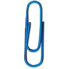 Baumgartens Skid Resistant Paper Clip - Blue