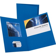 OXF 57512 Oxford Twin Pocket Letter-size Folders OXF57512