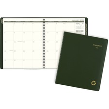 AAG70260G60 - At-A-Glance 100% PCW Monthly Planner