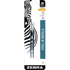 ZEB 88122 Zebra G-301 JK Gel Stainless Steel Pen Refill ZEB88122