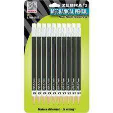 ZEB 51311 Zebra Push Eraser No. 2 Mechanical Pencils ZEB51311