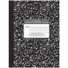 ROA 77475 Roaring Spring 80 Sheet Quad Ruled Comp. Notebooks ROA77475