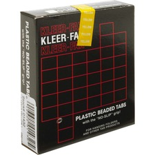 KLF KLE01432 Kleer-Fax 1/3 Cut Hanging Folder Tabs KLFKLE01432