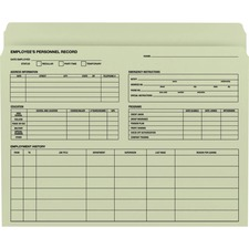 SMD 77000 Smead Employee Record File Folders SMD77000