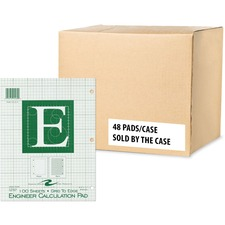 ROA 95582 Roaring Spring Engineer Calculation Pads ROA95582