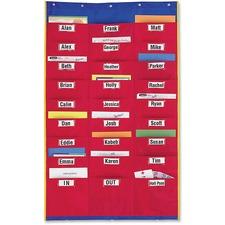 LRN LER2255 Learning Res. Storage Pocket Organization Station LRNLER2255