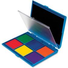 LRN LER4275 Learning Res. 7 Color Stamp Pad Ink Pad LRNLER4275