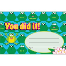 TEP T81034 Trend You did it Cheerful Frogs Recognition Awards TEPT81034