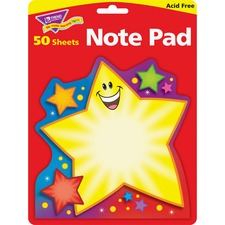 TEP T72066 Trend Super Star Shaped Note Pad TEPT72066