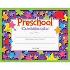 TEP T17006 Trend Preschool Certificate TEPT17006