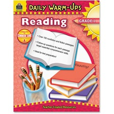 TCR 3487 Teacher Created Res. Gr1 Daily Warm-Ups Reading Bk TCR3487