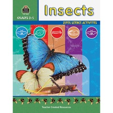 TCR 3661 Teacher Created Res. Gr 2-5 Science/Insects Workbk TCR3661