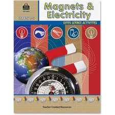 TCR 3664 Teacher Created Res. Gr 2-5 Magnets/Electricity Bk TCR3664