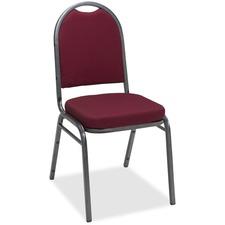 KFIIM520SVBURP - KFI IM520 Series Pindot Stacking Chair