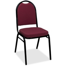 KFIIM520BKBURP - KFI IM520 Series Pindot Stacking Chair