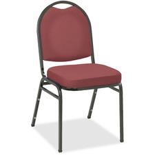 KFIIM520BKBURV - KFI IM520 Series Stacking Chair