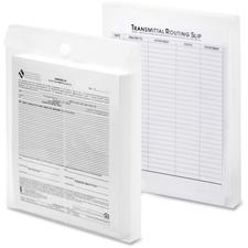 LIO22700CRBX - Lion File-N-Send Insta-Cover Vertical Transmittal Envelope