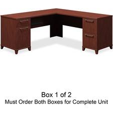 bbf Enterprise 2910CSA1-03 L-Shaped Desk Box 1 of 2