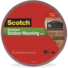MMM 4011LONG 3M Scotch 5 lb Permanent Outdoor Mounting Tape MMM4011LONG