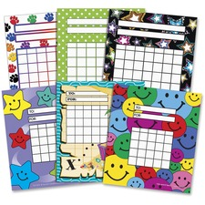 TCR 9028 Teacher Created Res. Assorted Incentive Charts TCR9028