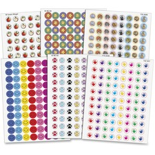 TCR 9029 Teacher Created Res. Assorted Stickers Pack TCR9029