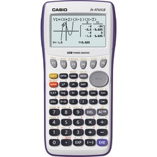 """Casio FX-9750GII Graphing Calculator - 20 Functions - 8 Line(s) - 21 Digits - Battery Powered - 7.2"""" x 3.6"""" x 0.9"""" - 1 Each"""