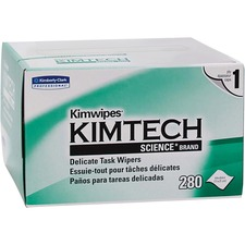 KCC 34155 Kimberly-Clark Kimwipes Delicate Task Wipers KCC34155