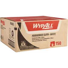 KCC 06280 Kimberly-Clark Wypall X80 Foodservice Towels KCC06280