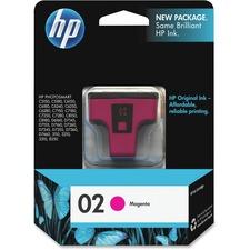 HP 2 Original Ink Cartridge - Single Pack - Inkjet - 370 Pages - Magenta - 1 Each
