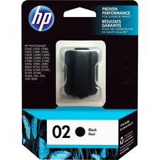 HP 2 Original Ink Cartridge - Single Pack - Inkjet - Standard Yield - 660 Pages - Black - 1 Each